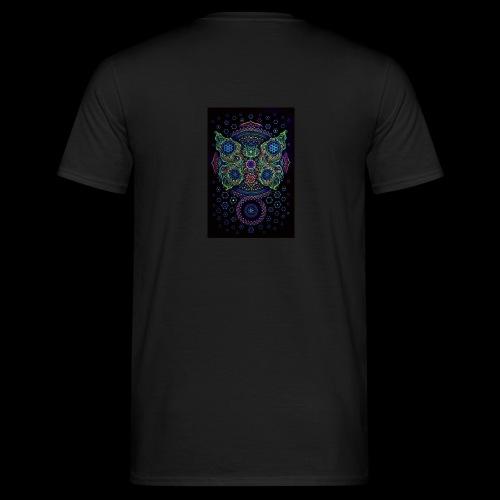 psychedelisch, psy, Dope, Goa, Farbig - Männer T-Shirt