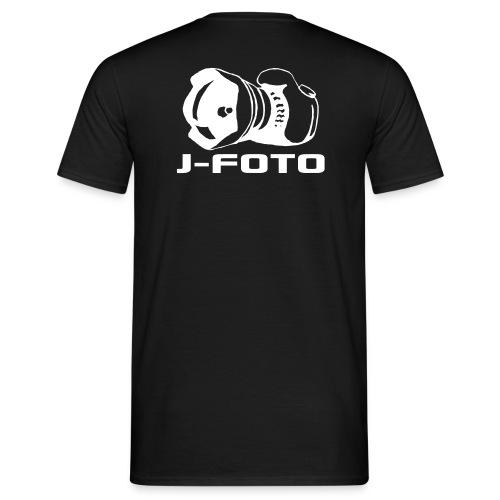 j-foto, teksti - Miesten t-paita