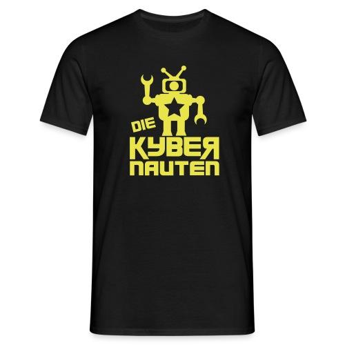 kyber_logo1_schwarz - Männer T-Shirt