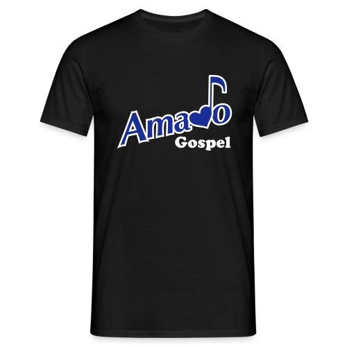 Tshirt Amado Gospel - avec Logo devant, prénom - T-shirt Homme
