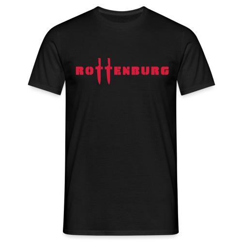 Schriftzug Rottenburg - Männer T-Shirt
