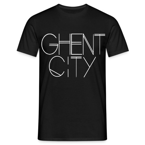 Ghent City - Mannen T-shirt