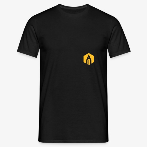kh_hexagon_black - Men's T-Shirt