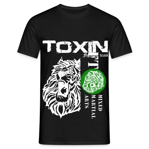 toxin fighting team white - T-shirt Homme