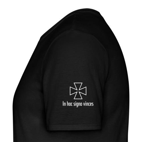 "Templar Cross and ""In hoc signo vinces"" - Men's T-Shirt"