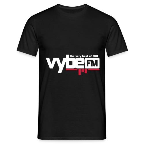 vybeFM-logo - T-shirt herr