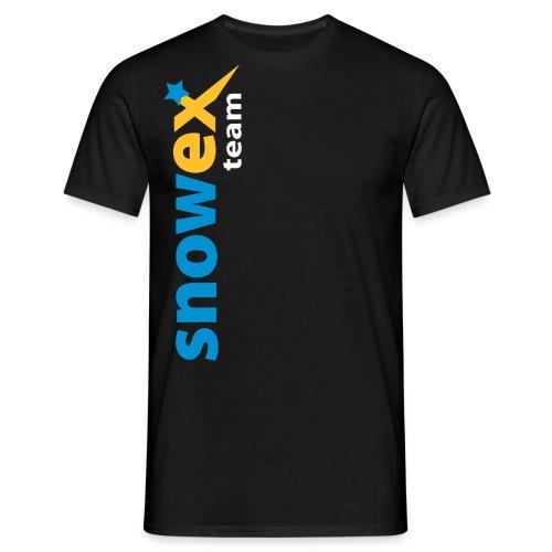 snowexteam blue - Männer T-Shirt