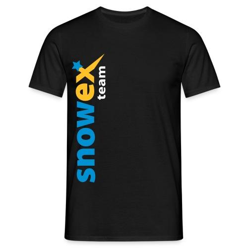 bike_logo_blue - Männer T-Shirt