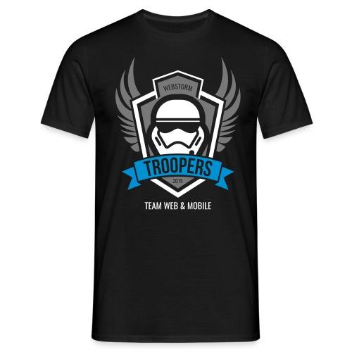 Webstorm Troopers dreifarbig - Männer T-Shirt