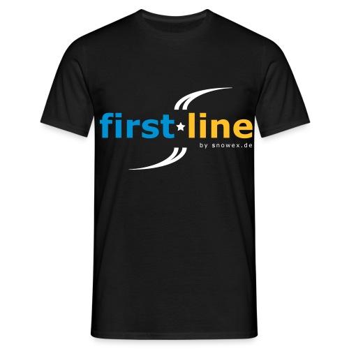 first line - Männer T-Shirt