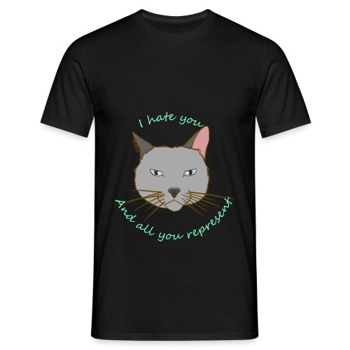 hate you - Camiseta hombre