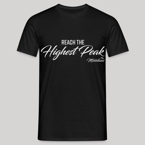 Highest peak - Männer T-Shirt