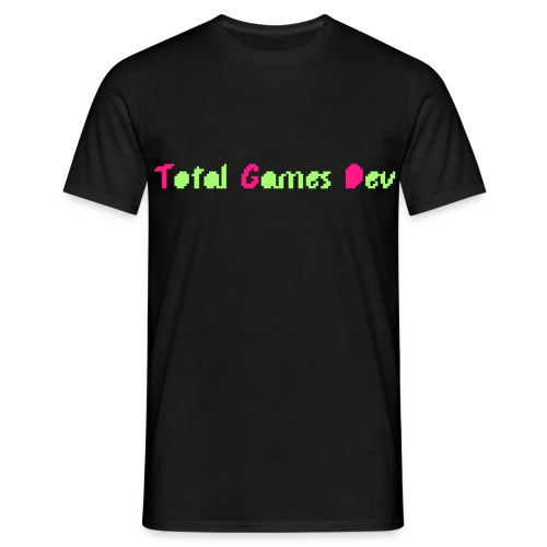 TotalGamesDev Text Logo - Men's T-Shirt