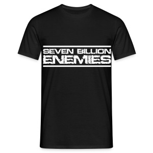 Seven Billion Enemies - BLANC - T-shirt Homme