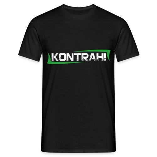 Kontrah Schriftzug groß - Männer T-Shirt