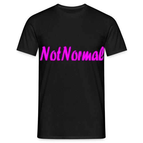 NotNormal Rosa - T-skjorte for menn