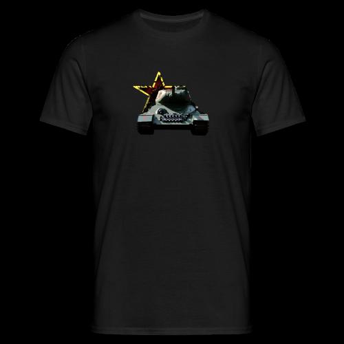 Russia - T34 tank - Men's T-Shirt