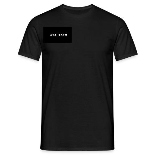 Itz Sxth Black and White - Men's T-Shirt