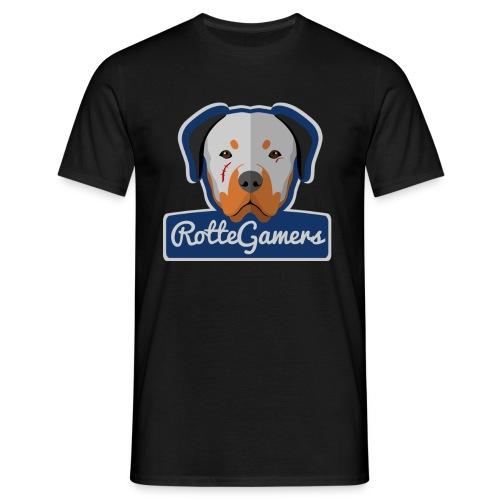 Original RotteGamers Hoodie Logo - Mannen T-shirt
