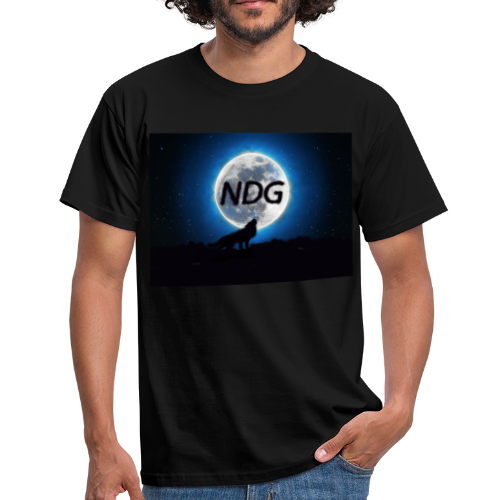 Ylande varg - T-shirt herr