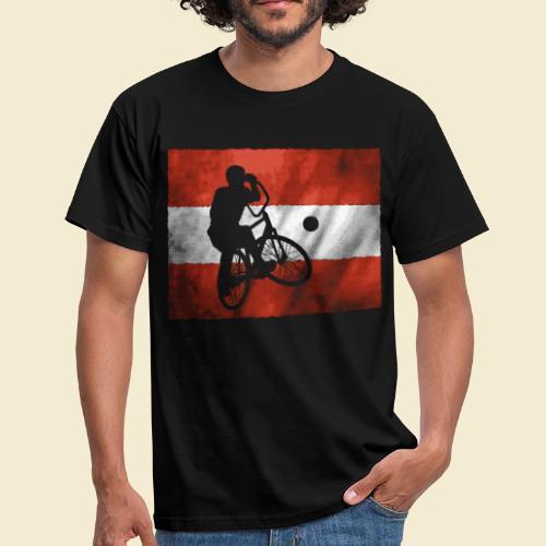 Radball | Flagge Österreich - Männer T-Shirt
