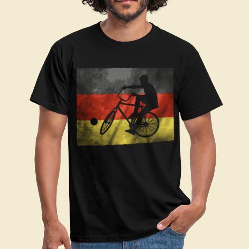 Radball | Flagge Deutschland - Männer T-Shirt