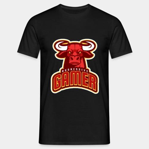 Aggressive Gamer - Men's T-Shirt