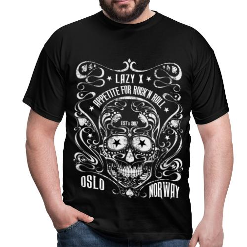 Lazy X Appetite for Rock'n Roll - Men's T-Shirt