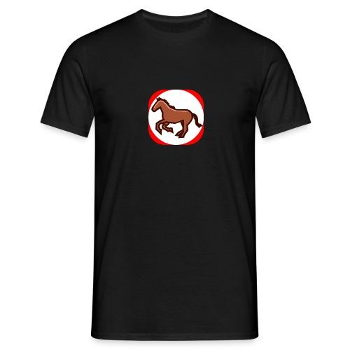 Pferd - Männer T-Shirt