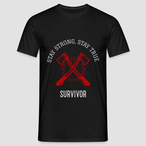 Survivor - Men's T-Shirt