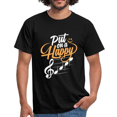 happy face - Männer T-Shirt