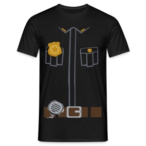 Police Tee Black edition - Men's T-Shirt