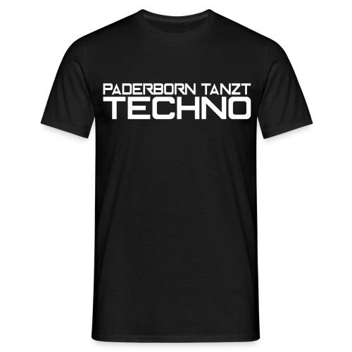 Paderborntanzttechno - Männer T-Shirt