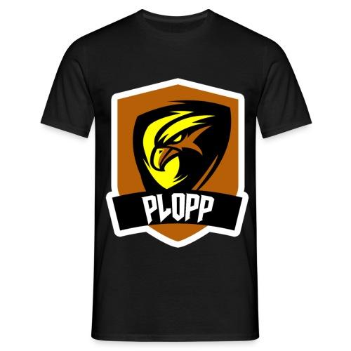 Plopp T-Shirt Emblem Svart - T-shirt herr