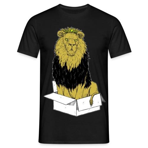 my box is my castle colour - Männer T-Shirt
