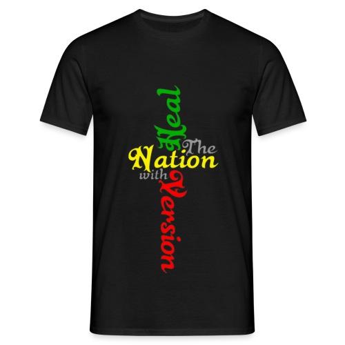 Reggae Healing Gears - Men's T-Shirt