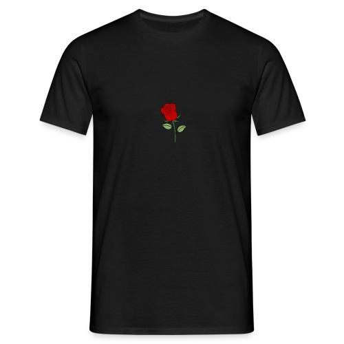 Red Rose - Mannen T-shirt