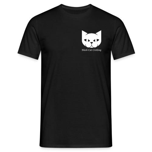Black Cat Logo Shirt - Men's T-Shirt