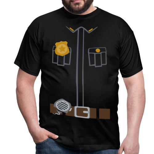 Police Tee Black edition - Men's T-Shirt