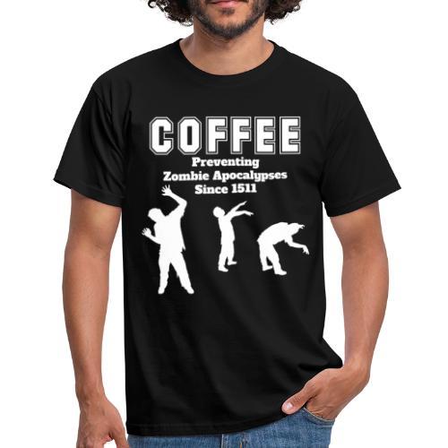 Coffee Apocalypse - Männer T-Shirt
