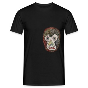 Francis Bowie Monkey - Herre-T-shirt