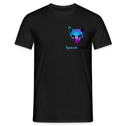space wolf galaxy - Camiseta hombre