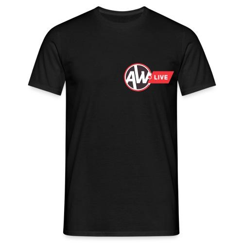 AW LIVE logo 1 - T-shirt Homme