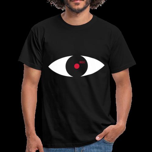 We see you! Black Edition - Männer T-Shirt