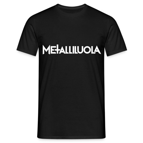 Metalliluola logo - Miesten t-paita