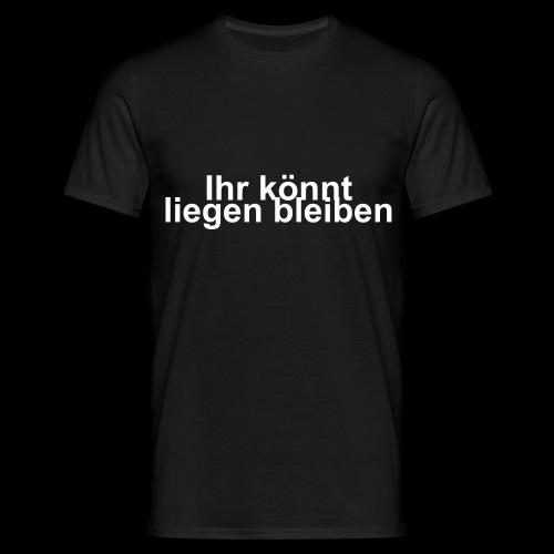 Liegen - Männer T-Shirt