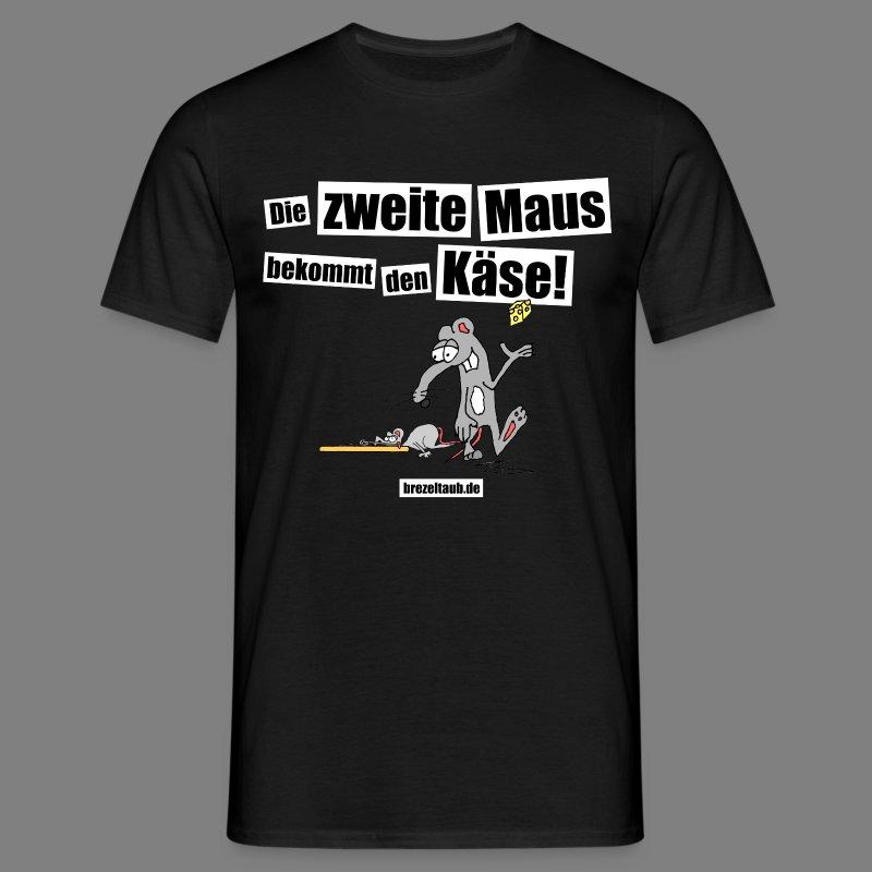 Die zweite Maus - Männer T-Shirt