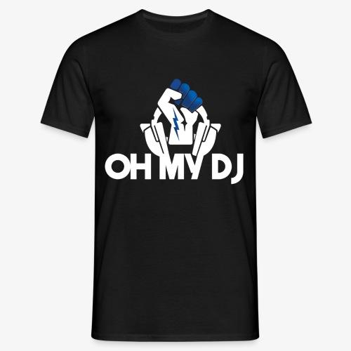 Ibiza Oh My Dj White - T-shirt Homme