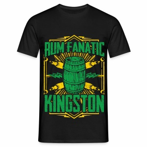 T-shirt Rum Fanatic - Kingston, Jamajka - Koszulka męska