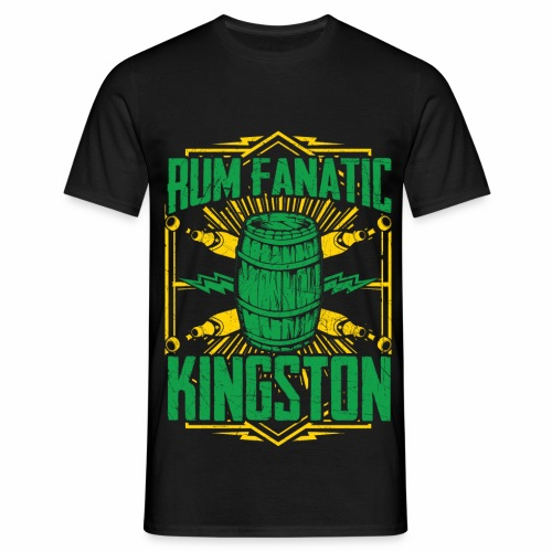 T-shirt Rum Fanatic - Kingston, Jamajka - Koszulka męska